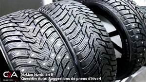 Pneu D Hiver : pneus d 39 hiver 5 pneus consid rer pour cet hiver youtube ~ Mglfilm.com Idées de Décoration