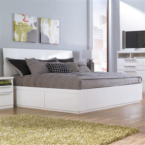 storage bed white storage beds youll and white platform bed with south