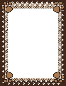 9 Unique Photograph Of Cheetah Outline Printable Best Owners Will Enjoy This Printable Brown Border With