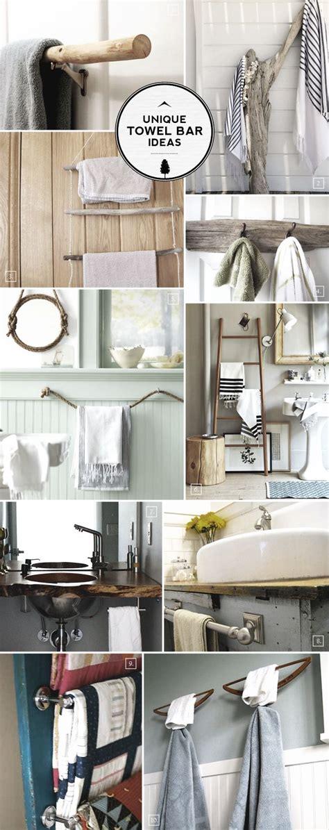 Towel Rack Ideas For Bathroom by The 25 Best Bathroom Towel Racks Ideas On