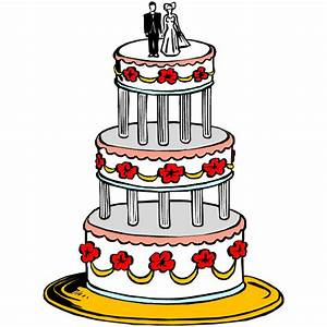Wedding Cake Clipart - Clipartion.com