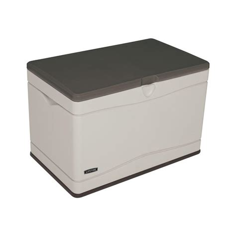 Sams Club Deck Storage Box by Lifetime 80 Gal Polyethylene Outdoor Deck Box 60103 The