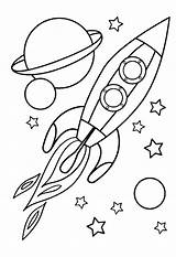 Nasa Coloring Space Shuttle Pages Drawing Spaceship Getdrawings sketch template