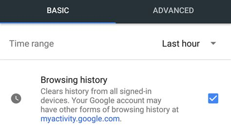 how to delete browsing history android tech advisor