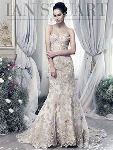 papillon ian stuart bride With papillon wedding dress