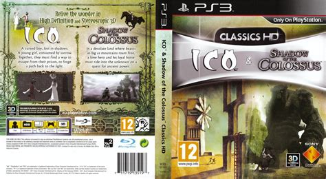Ico And Shadow Of The Colossus Hd Playstation 3 Ultra Capas