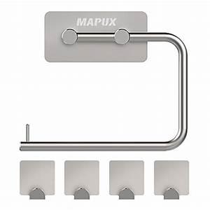 Wc Rollenhalter Stehend : entdecken sie wc rollenhalter ohne bohren produkte ideen ~ Whattoseeinmadrid.com Haus und Dekorationen