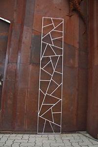 Edelstahl Sichtschutz Metall : rankgitter aus edelstahl mit original schmitzstruktur garten rankgitter pergola metall und ~ Orissabook.com Haus und Dekorationen