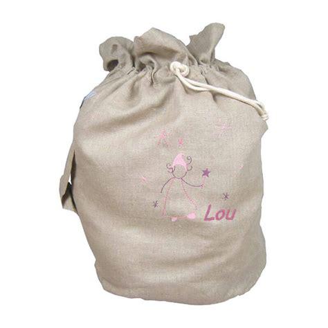 un sac rangement jouet personnalis 233 d une f 233 e et de pr 233 nom