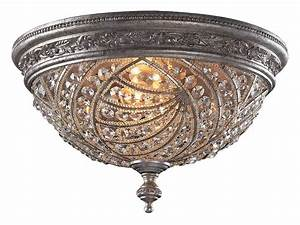 Elk Lighting 6232/4 Crystal Renaissance Flush Mount