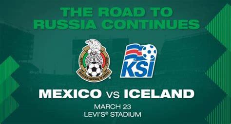 Horario y dónde ver, en vivo. Resultado: México vs Islandia Vídeo Resumen- Goles Amistoso Fecha FIFA Marzo 2018