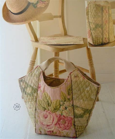 Quilted Fabric Tote Bags