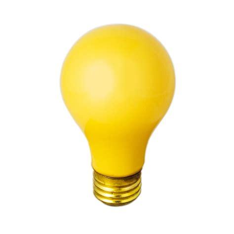 light safe yellow bulb