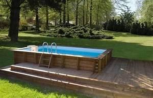 Les différents types de piscine hors sol en bois