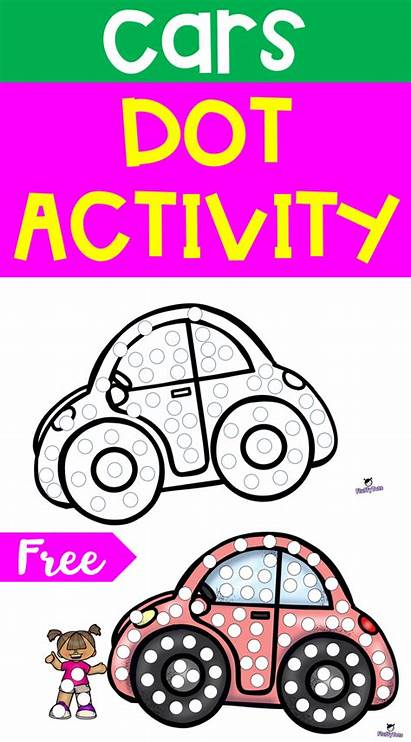 Dot Activity Marker Activities Dots Preschool Printables