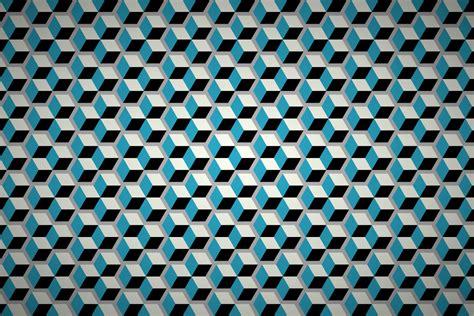 Free geometric cubes wallpaper patterns