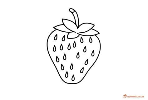 coloring pages strawberry strawberry coloring pages