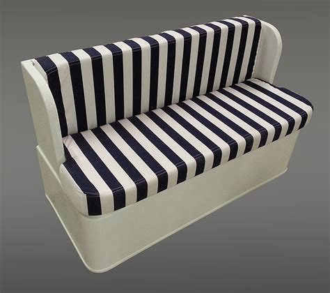 Custom Boat Seating Bench by Custom Bench Seat With Storage For Your Yacht Or Boat