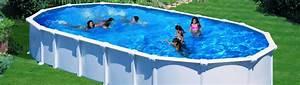 Piscine Ovale Hors Sol : piscine hors sol acier gre start top x x 1 ~ Dailycaller-alerts.com Idées de Décoration