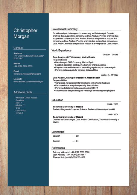 cv builder  creator resume