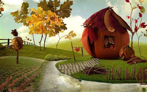 imaginative autumn scenery wallpapers imaginative autumn