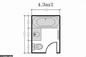 Petite Salle De Bain 3m2 : good amenagement salle de bain 3m2 11 15 plans pour une ~ Dailycaller-alerts.com Idées de Décoration
