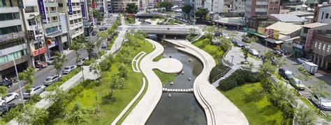taichung liuchuan river restoration landscape planning  design