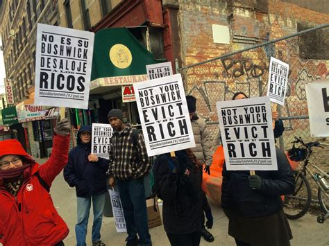 Brooklyn activists protest plans to build luxury apartments