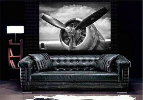 Print Plus Retro Aircraft Plane Propeller Canvas Wall Decor How To Fix A Cavity At Home Disney Decor For Adults New Homes Decorated Models Decorating Ideas Diwali Interior Decoration Of Wall Shelves Better And Gardens Dishes Fort Wayne Builders