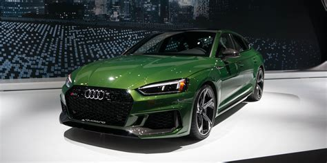 2019 Audi Rs5 Sportback Brings 444 Hp To New York