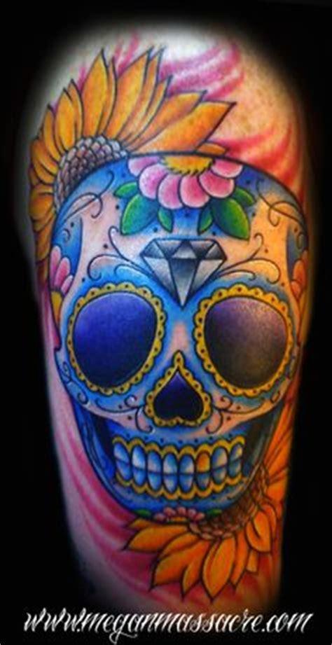 images  sugar skull tattoos  pinterest