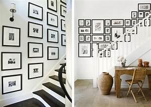 decoration des idees pour apprendre comment accrocher With idee deco pour escalier