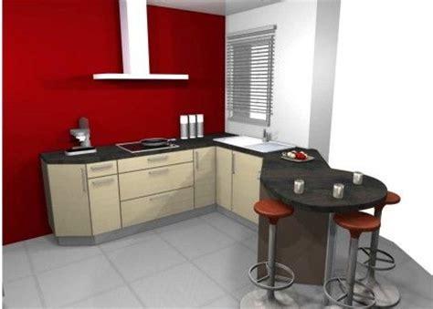 couleur mur de cuisine cuisine mur couleur