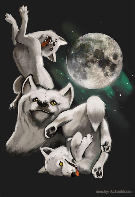 3 Wolf Moon Meme - three wolf moon moon moon moon know your meme