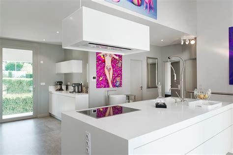cuisine avec ilot central plaque de cuisson aménagement intégral d 39 une maison en v korr v korr