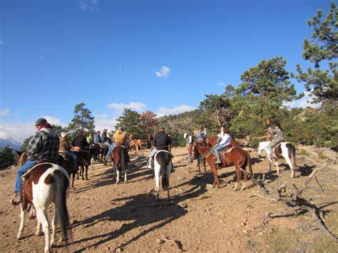 horseback estes park riding colorado