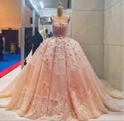 my big wedding dresses aliexpress buy pink lace wedding dress big gown wedding dress from reliable wedding