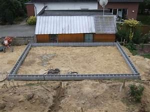 Fundament Für Mauer : garagenbau 2 teil ~ Whattoseeinmadrid.com Haus und Dekorationen