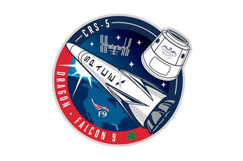 Possible CRS-9 patch, via SpaceX group on Facebook : spacex