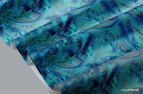 Logo printed on fabric mockup. Beautiful Fabric Mockup Free PSD | ZippyPixels