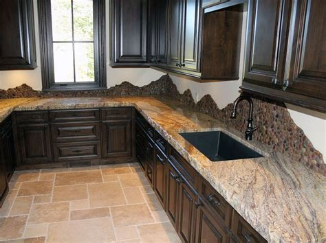 granite countertop edges types of granite