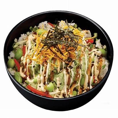 Poke Sushi Menu Veggie Bols Bowls Vege
