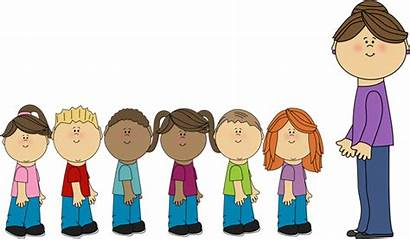 Students Clipart Line Standing Clipground