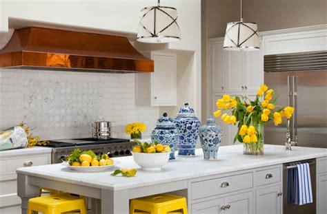 Yellow And Gray Kitchen