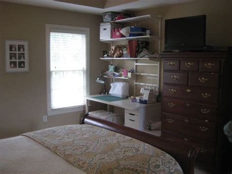Corner Bedroom Bureau by Two Perspectives On Bedroom Sewing Corner Twoinspiredesign