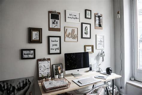 photo deco bureau décoration bureau cosy exemples d 39 aménagements