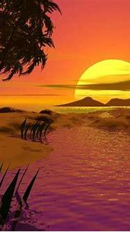 Nature Wallpapers: 3d Sunset Wallpaper
