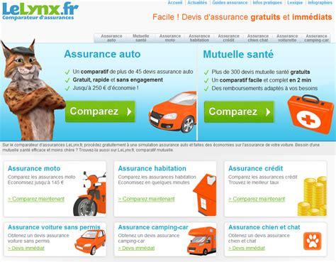 Comparateur Assurance Auto Le Lynx