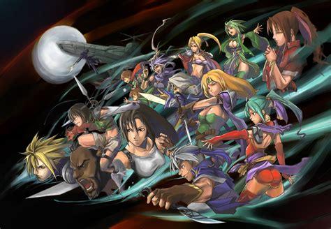 Final Fantasy 7 Remake Wallpaper Aeris Gainsborough Barret Wallace Cecil Harvey Celes Chere Cloud Strife Final Fantasy Final