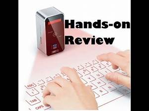 Celluon Magic Cube (Projection Keyboard) Review - YouTube